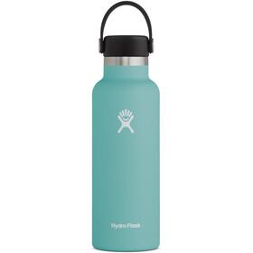 Hydro Flask Standard Mouth Bidón con Tapa Estándar Flex 532ml, Turquesa